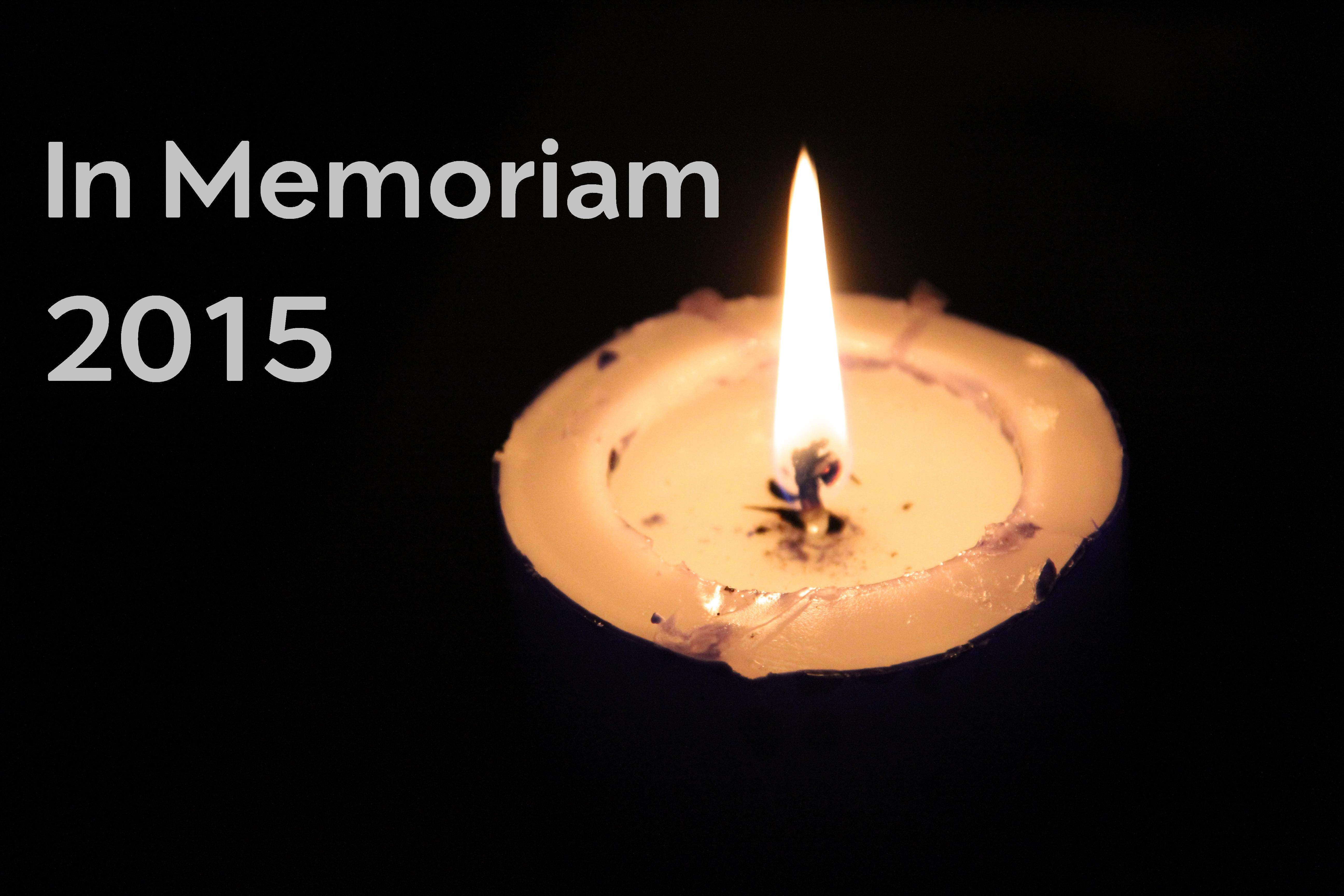 In Memoriam 2015.