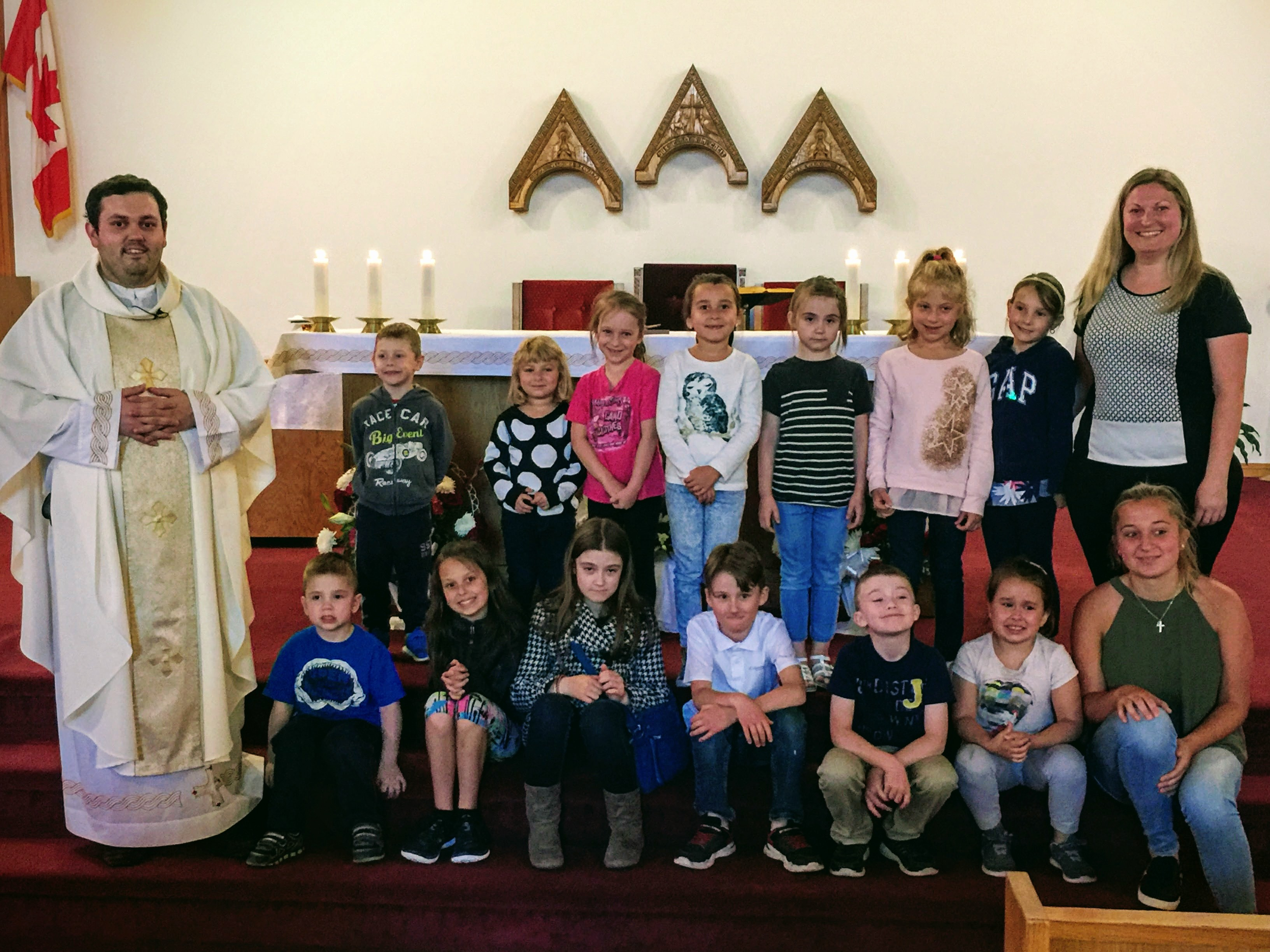 Thanksgiving Mass for the end of the Catechism year