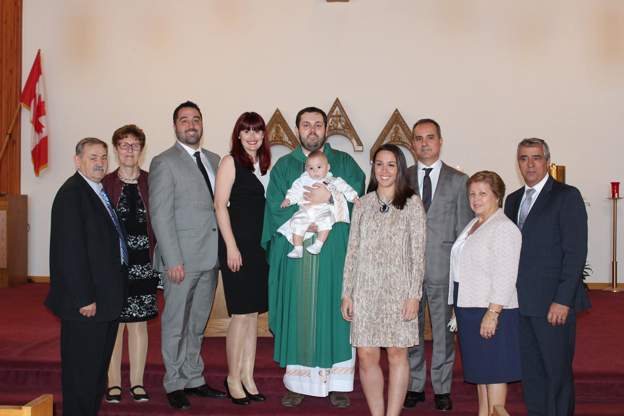 Baptism of Luka Lopes