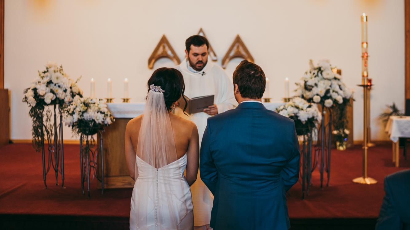 Sakrament ženidbe sklopili su Paul Paulić i Nikolina Šimunić