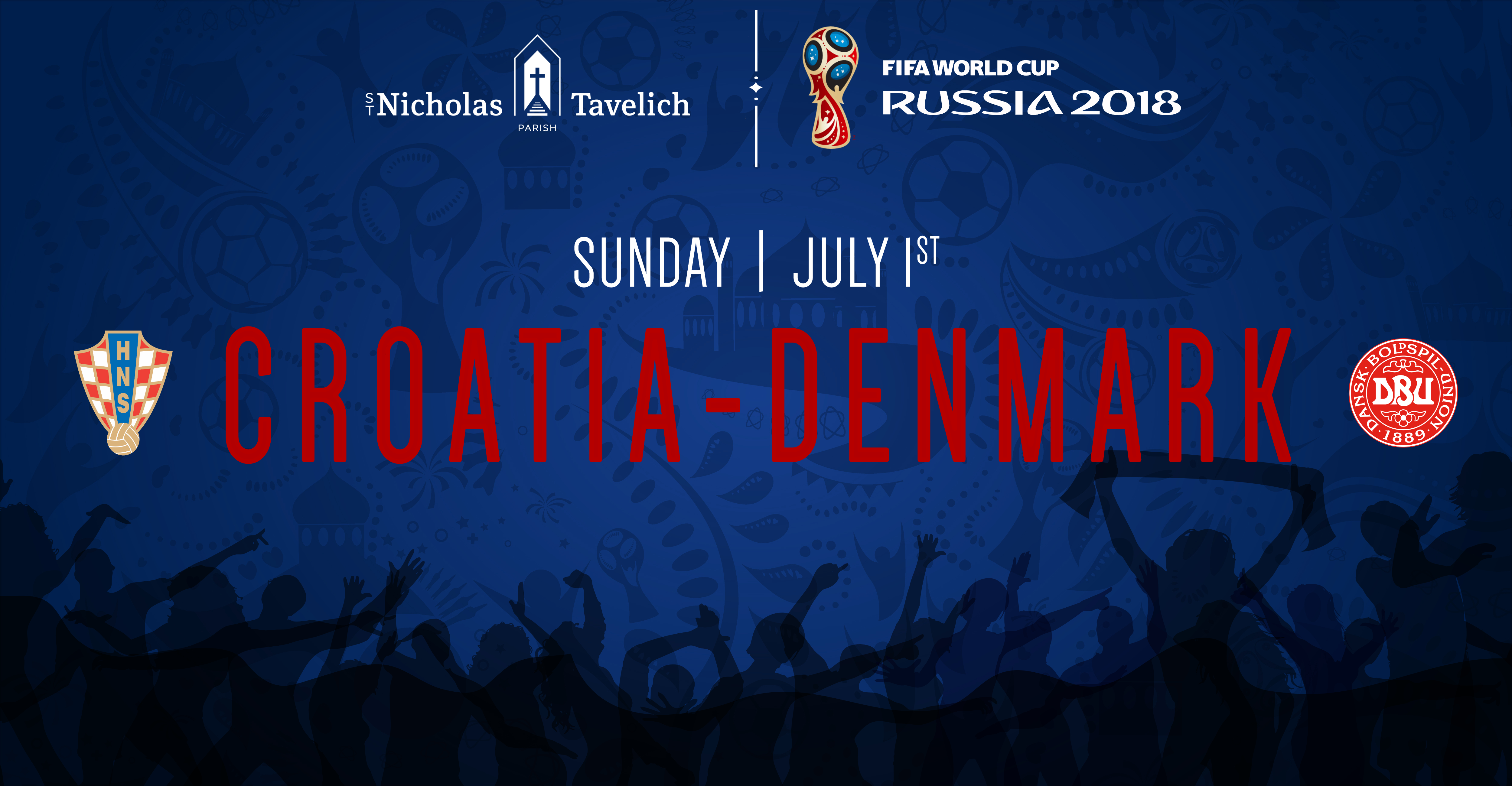 Croatia vs. Denmark