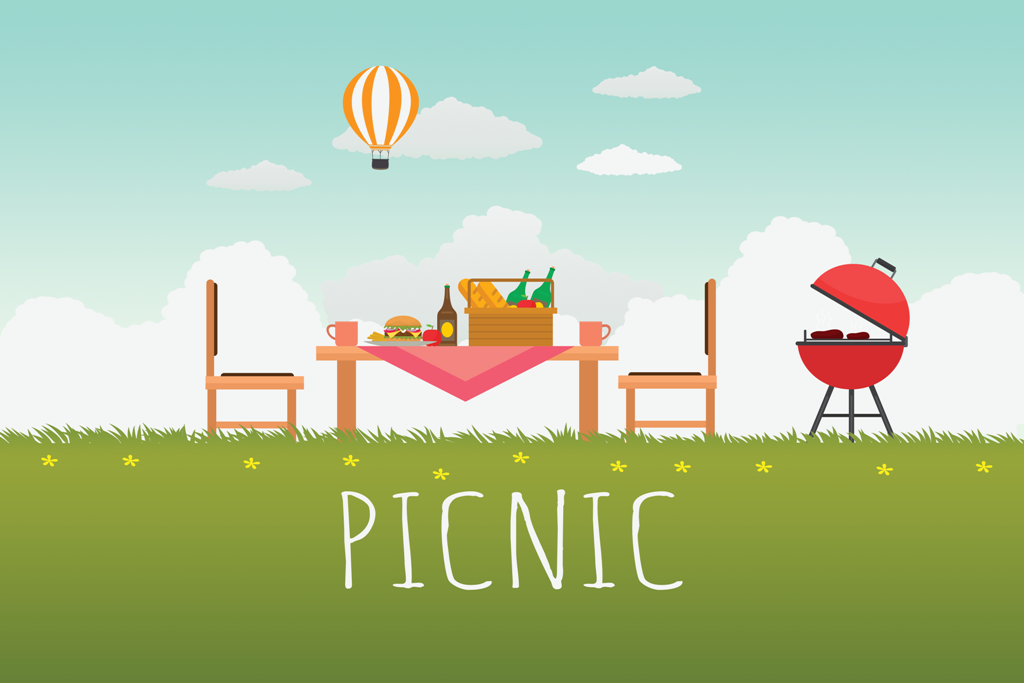 Summer Picnic at Travnik