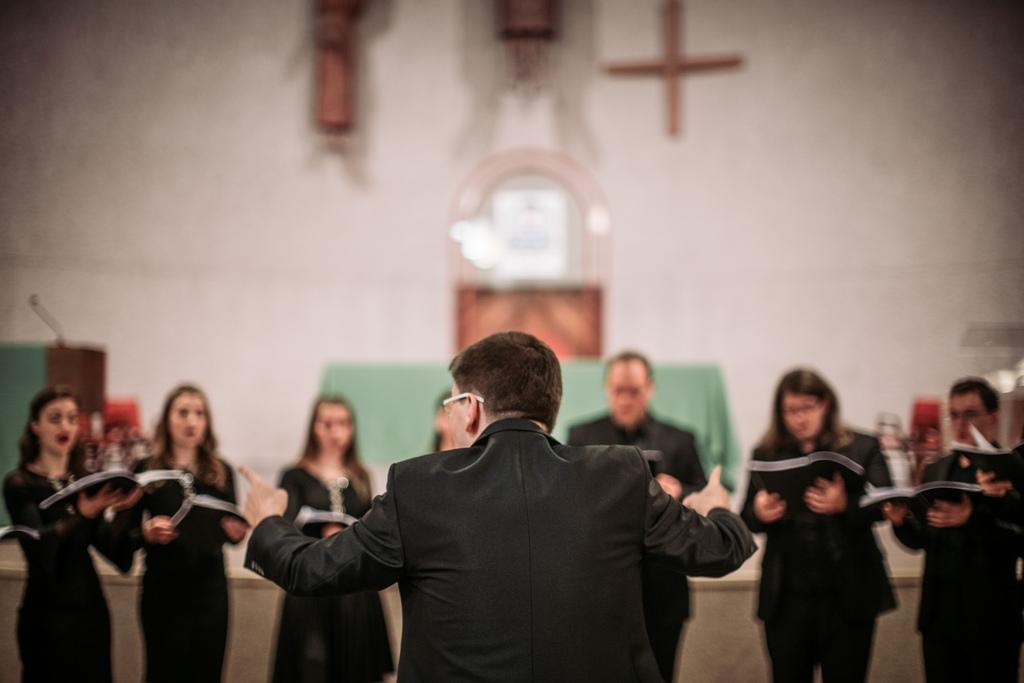 """Koncert """"Cantate Domino"""" Noneta Donum u katedrali sv. Bonifacija u Winnipegu"""