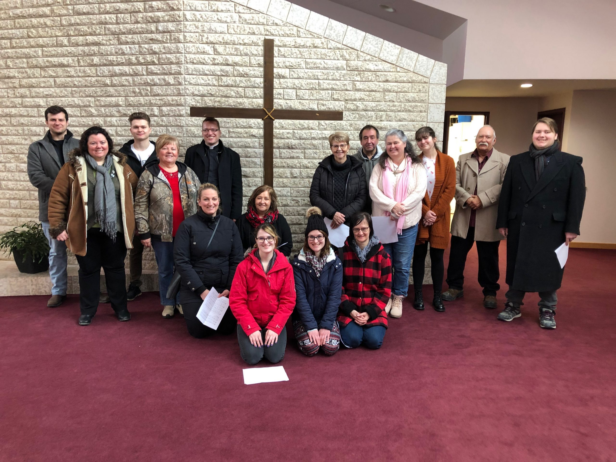 33rd Annual Public Way of the Cross in the Archdiocese of Winnipeg