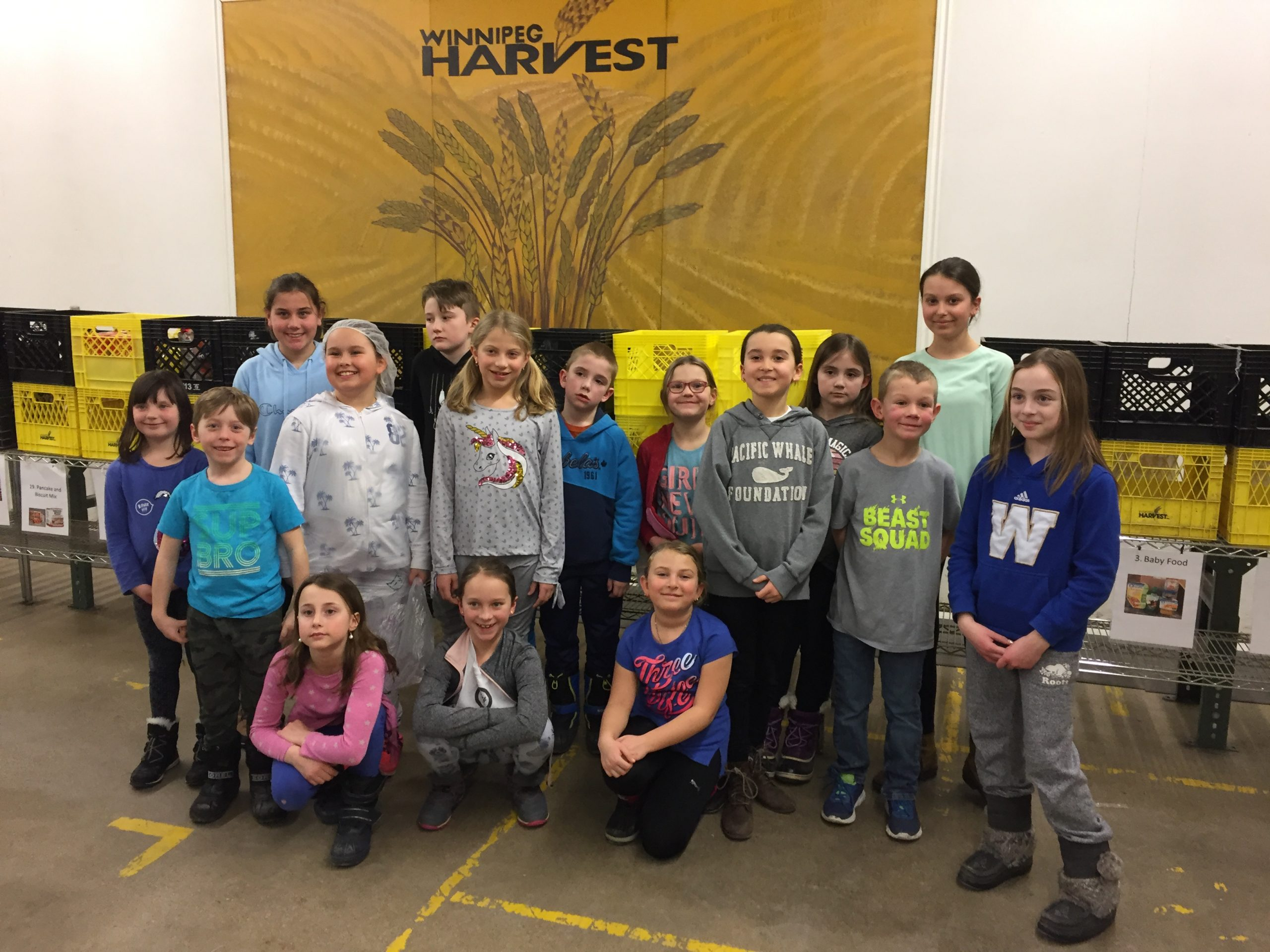 Winnipeg Harvest Volunteering Night